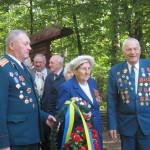 В Лопатни за солдатской кашей партизаны вспоминали фронтовые будни