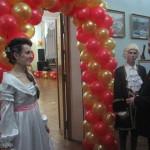 На Волыни состоялся бал для студентов