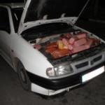 Ягодинські пограничники задержали «фаршированный мясом автомобиль