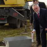 На Волыни заложили фундамент новой школы