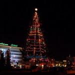 Главную елку города «зажгут» Святой Николай