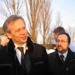 Аграрный министр запустил мукомольный комплекс на «Волиньзернопродукті»