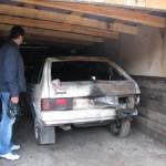 В Киверцах пьяный парень сжег два автомобиля
