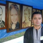 Мастер из Луцка изготавливает портреты по собственной технологии