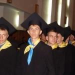 На посвящении в студенты в ВНУ Борис Климчук стал почетным студентом