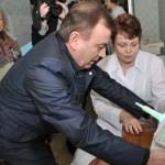 Луцкая детская поликлиника получила в подарок оборудование