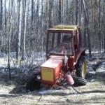 Белорус поломал трактор в Украине и сбежал домой