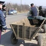Волынские гаишники проверяют гужевой транспорт