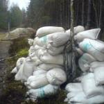 На Ратнивщине задержали нарушителей с тремя тоннами контрабандной селитры
