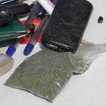 «Рено» с наркотиками застрял в болоте