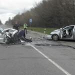 В ДТП под Ковелем погиб пассажир иномарки