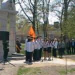 Во Владимире-Волынском открыли памятник «Помни Чернобыль»