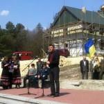 Депутаты из Волыни почтили память воинов УПА, погибших на Ровенщине