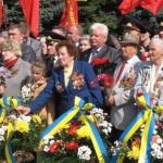 На Волыни День Победы отпраздновали спокойно: с митингом, однако без столкновений