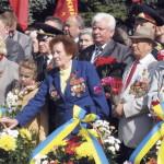 На Волыни День Победы отпраздновали с митингом, но без столкновений