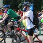 Луцкие велосипедисты устраивают парад