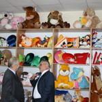 Под Луцком открыли фабрику по производству игрушек