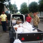 Народная самооборона Рожища отправила на Восток очередную машину с продовольствием для воинов